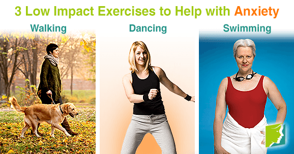 3 Low Impact Exercises to Help with Anxiety