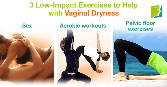 3 Low-Impact Exercises to Help with Vaginal Dryness
