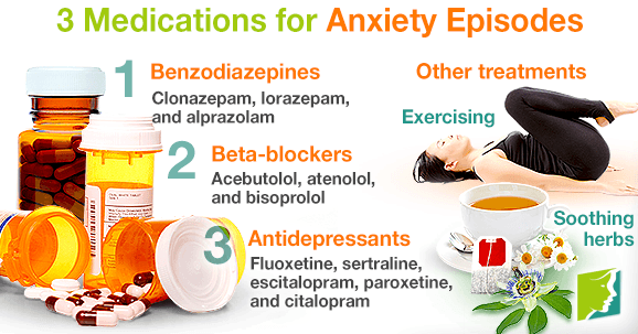 3 Medications for Anxiety Episodes