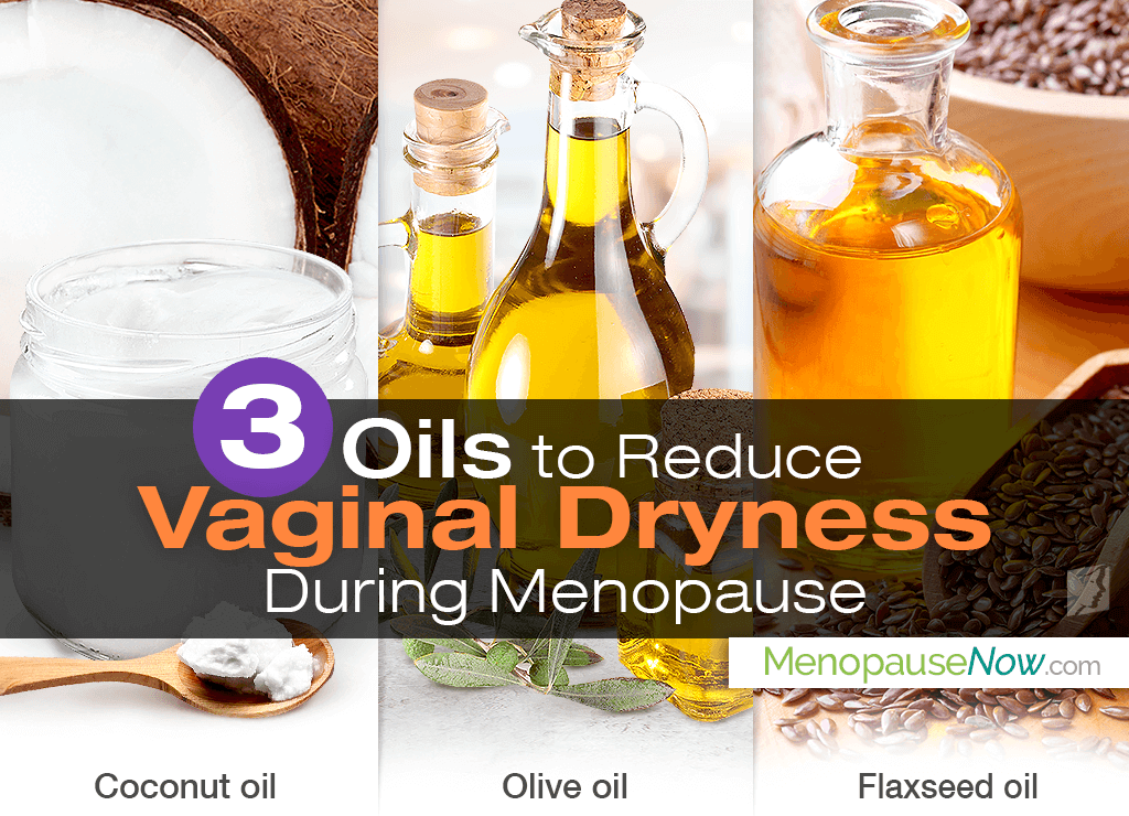 Natural lubricant for menopausal dryness