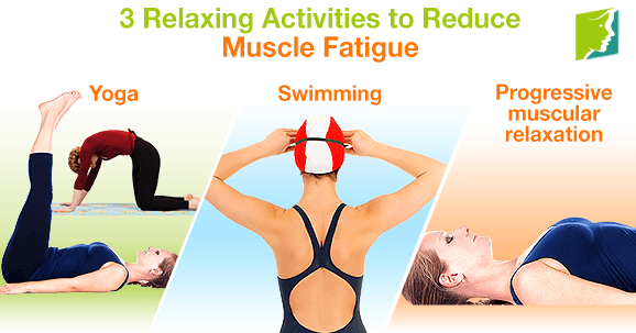 3 Relaxing Activities to Reduce Muscle Fatigue