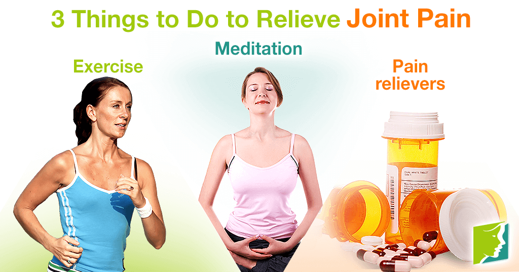 3 Things to Do to Relieve Joint Pain