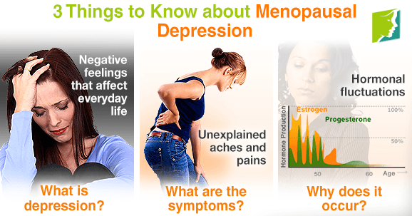 Hormones depression and menopause