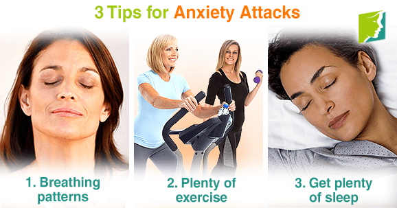 3 tips for anxiety attacks