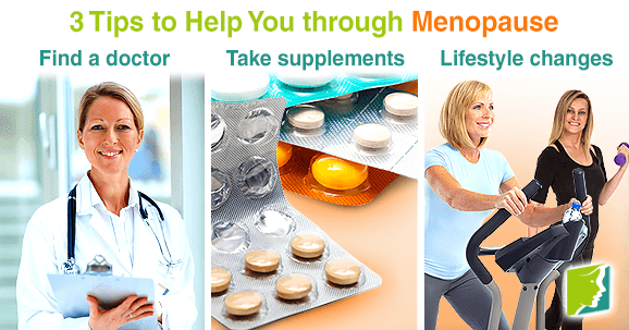 3 Tips to Help You through Menopause