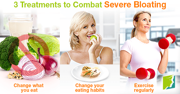 3 Treatments to Combat Severe Bloating