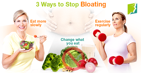 3 Ways to Stop Bloating