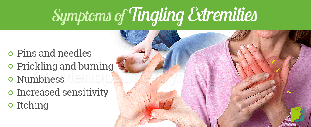 Tingling Extremities Symptom Information | Menopause Now