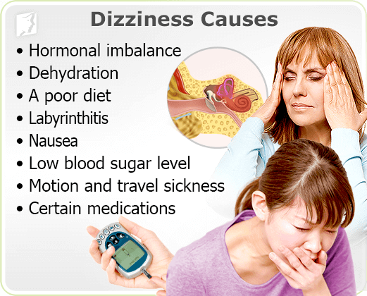 Causes of Constant Mild Dizziness