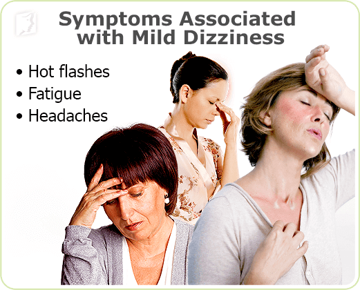 Symptoms Associated with Mild Constant Mild Dizziness