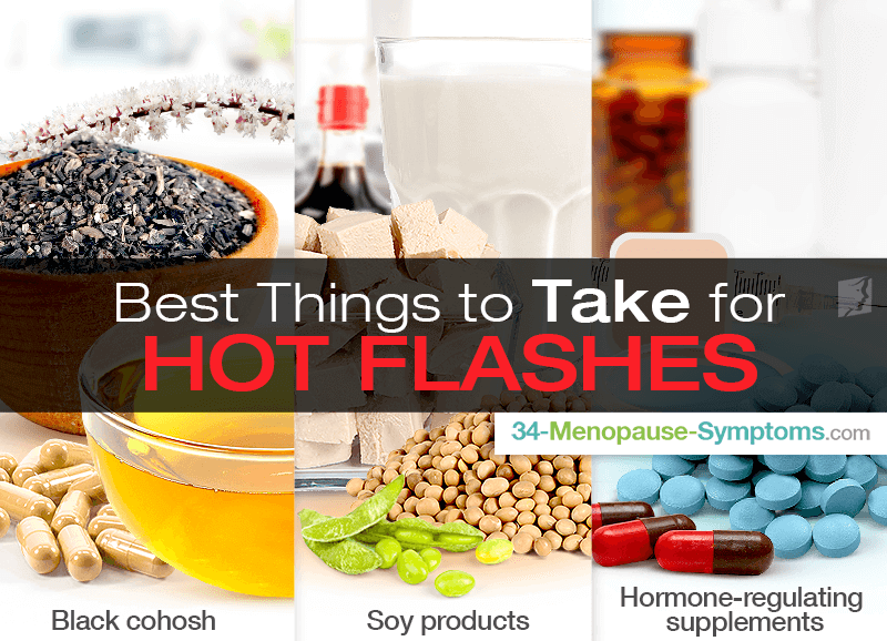 Best Things to Take for Hot Flashes