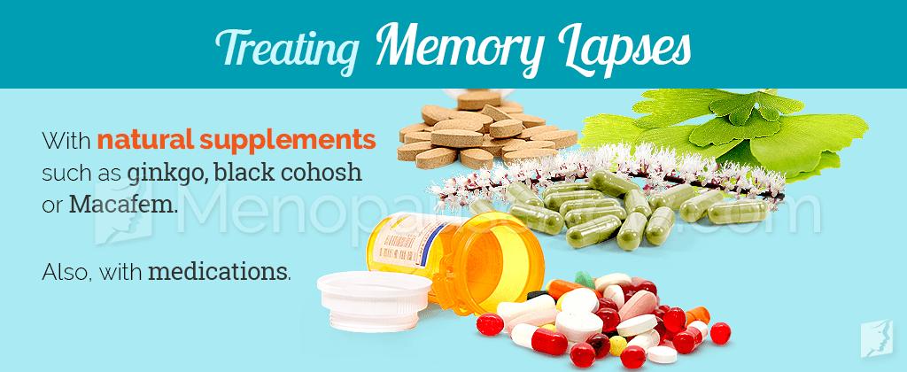 Treating memory lapses