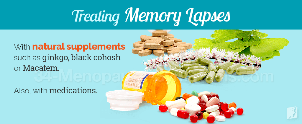 Treating memory lapses
