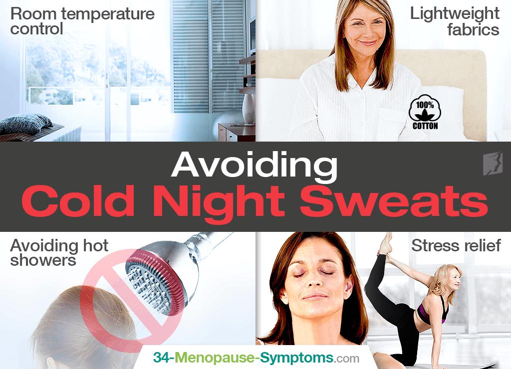cold sweats at night