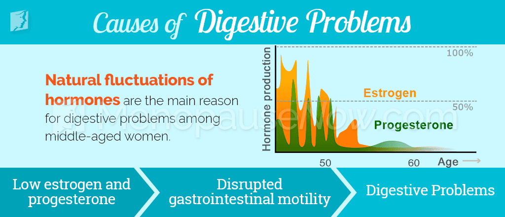 Causes of digestive problems