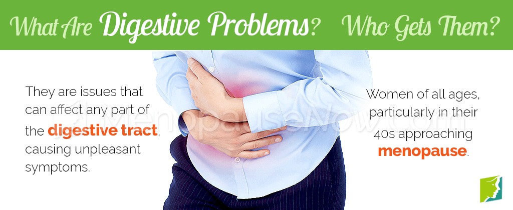 What are digestive problems?