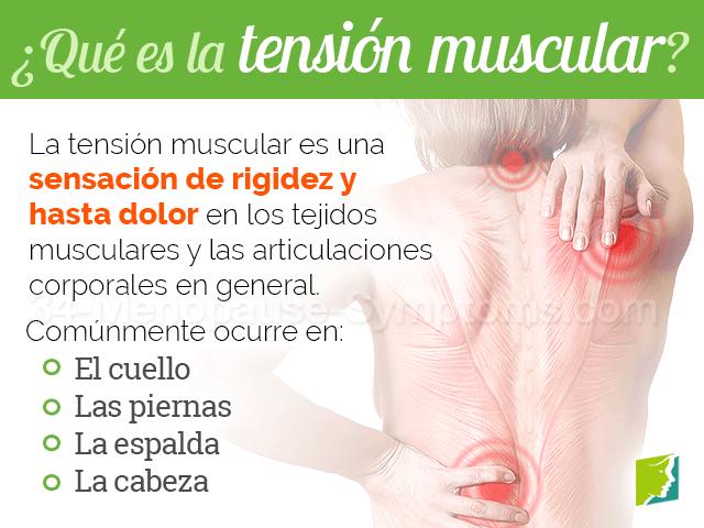 ¿Qué es la tensión muscular?