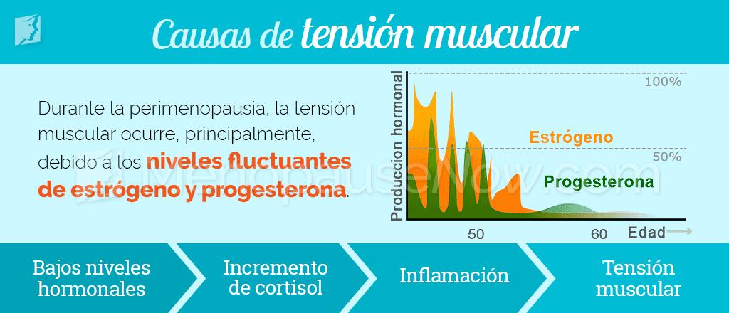 Causas de la tensión muscular