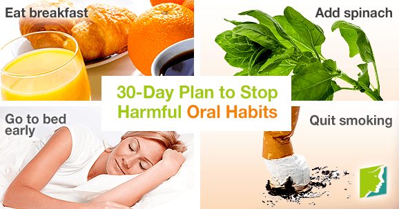 30-Day Plan to Stop Harmful Oral Habits
