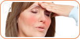 Hot flashes mean that your wife will be experiencing extreme moments of intense heat.