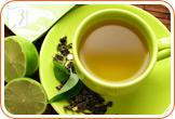 Green tea is a healthier beverage than coffee.