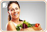 Women can make some dietary changes to rebalance hormone levels.