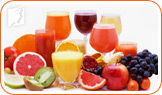 Drink more fresh fruit juice instead of coffee.