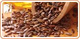 Flaxseed can help relieve mild and moderate hot flashes and night sweats.