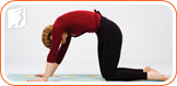 Yoga helps menopausal women through relaxing your body and releasing tension.