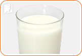 Milk: lactose intolerance can also be a cause of digestive problems