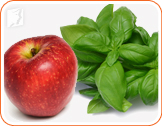 Apples and leafy greens: food rich in fiber helps a lot with digestive problems