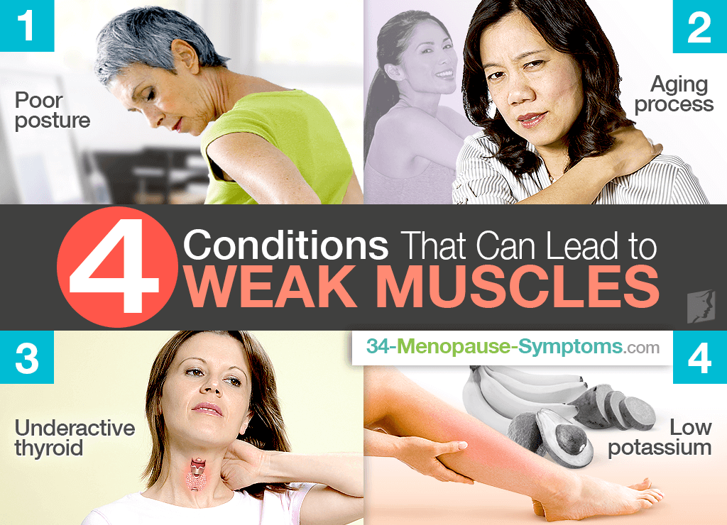 4 Conditions That Can Lead to Weak Muscles