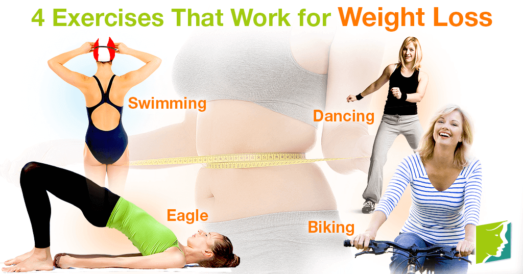 4 Exercises That Work for Weight Loss