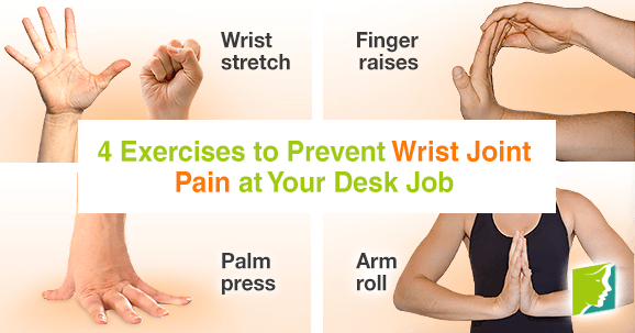 4 Exercises to Prevent Wrist Joint Pain at Your Desk Job