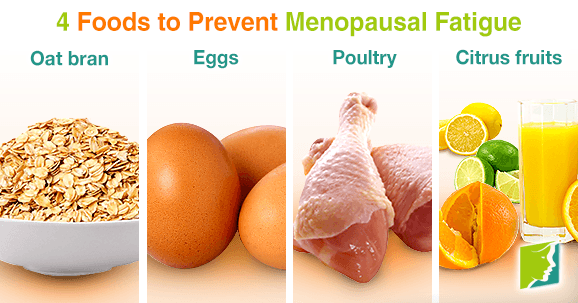 4 Foods to Prevent Menopausal Fatigue