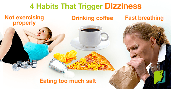 4 Habits That Trigger Dizziness