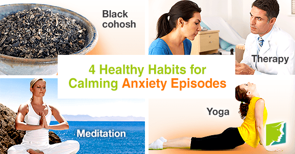 4 healthy habits for calming anxiety episodes
