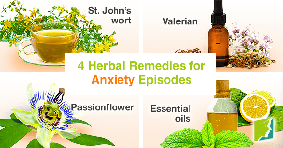 4 Herbal Remedies for Anxiety Episodes