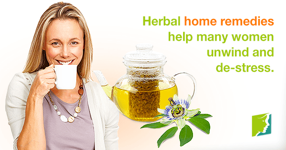 Herbal home remedies help many women unwind and de-stress