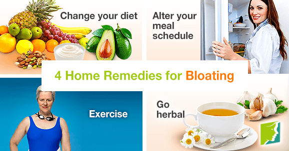 4 Home Remedies for Bloating