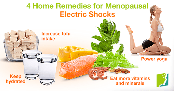 4 Home Remedies for Menopausal Electric Shocks