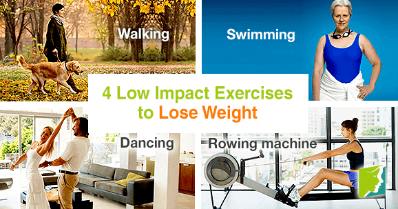 4 Low Impact Exercises to Lose Weight