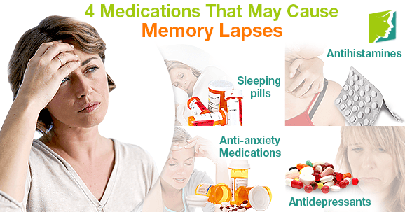 4 Medications That May Cause Memory Lapses