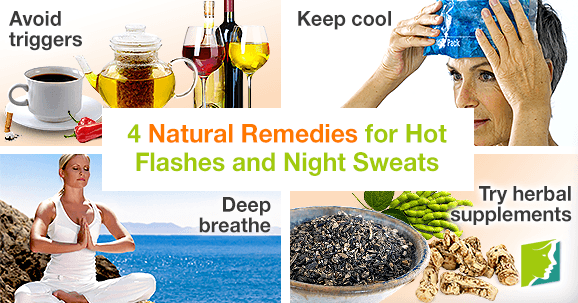 4 Natural Remedies for Hot Flashes and Night Sweats