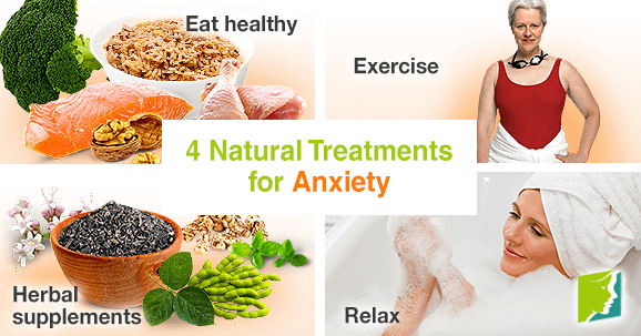 4 Natural Treatments for Anxiety
