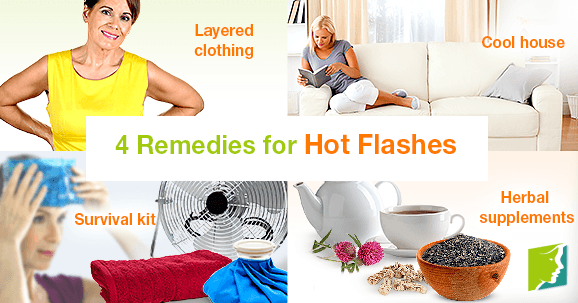 4 Remedies for Hot Flashes