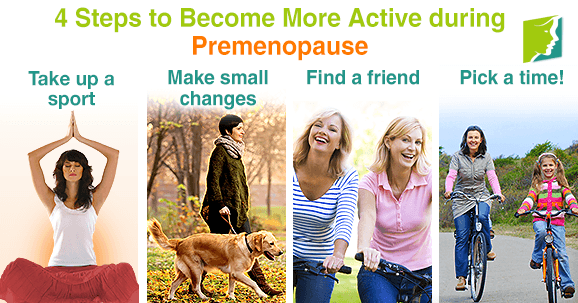 4 Steps to Become More Active during Premenopause