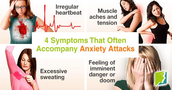 4 Symptoms That Often Accompany Anxiety Attacks