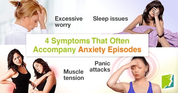 4 Symptoms That Often Accompany Anxiety Episodes