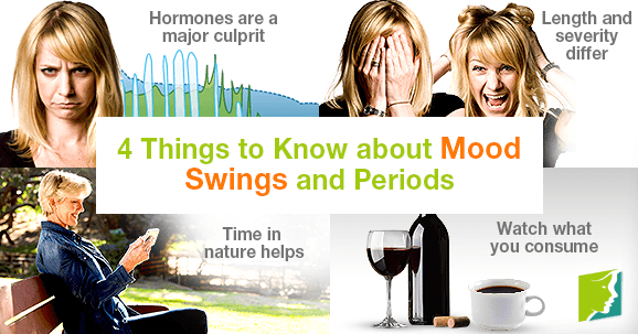 4 Things to Know about Mood Swings and Periods
